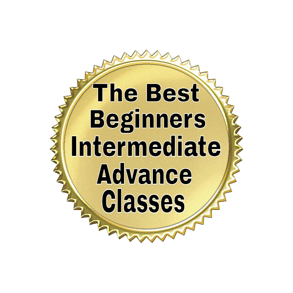The Best Beginners Intermediate Advance Classes